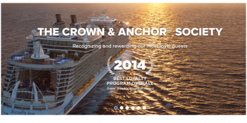 "Guide til RCCL ""Crown & Anchor Society"""