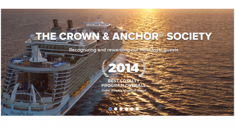 """Guide til RCCL """"Crown & Anchor Society"""""""