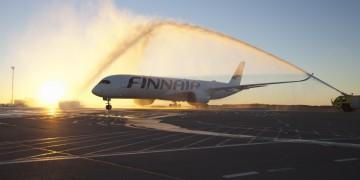 Finnairs første A350