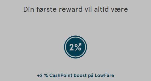 InsideFlyer DK - Norwegian - Nye medlemsfordele - Første reward