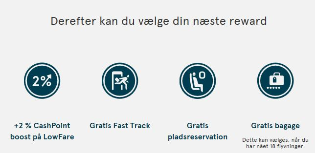 InsideFlyer DK - Norwegian - Nye medlemsfordele - Valgfri reward efter 12 flyvninger
