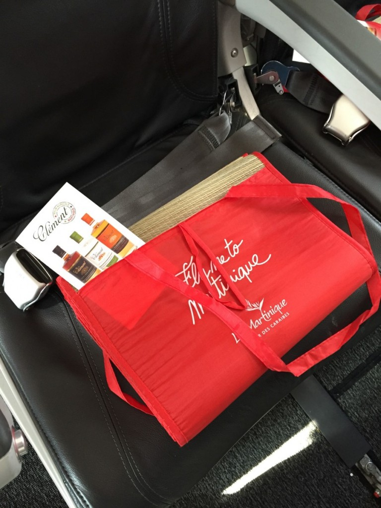 Goodie Bags til alle passagerer.