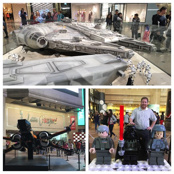 Star Wars feber i Hong Kong (december 2015)