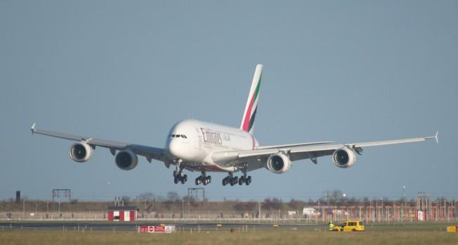 InsideFlyer DK - Emirates lander for første i København med Airbus A380