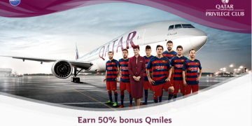 Få ekstra point hos Qatar Airways
