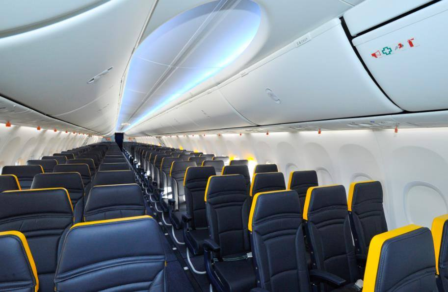 Ny Ryanair kabine - Insideflyer.dk