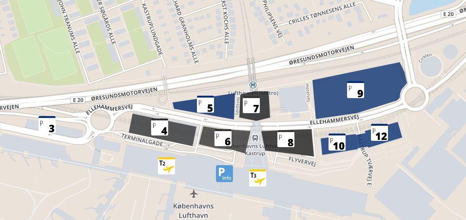 københavns lufthavn parkering pris