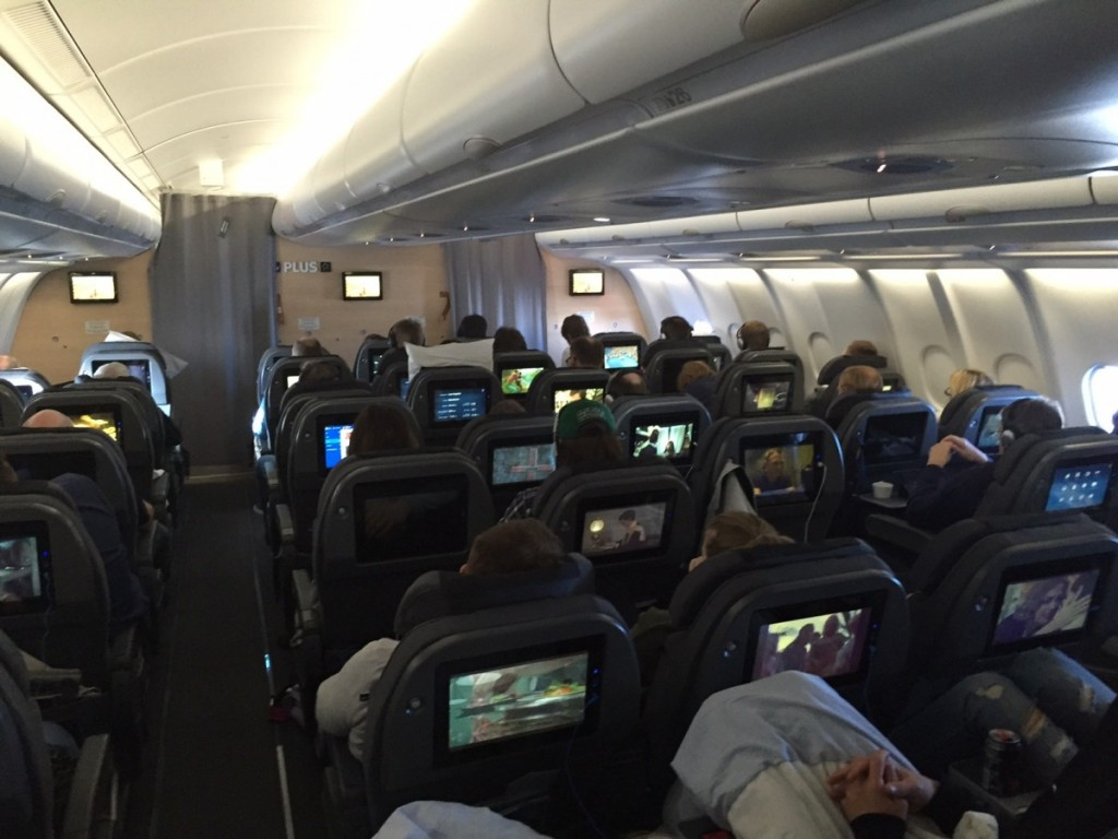 SAS Plus kabinen