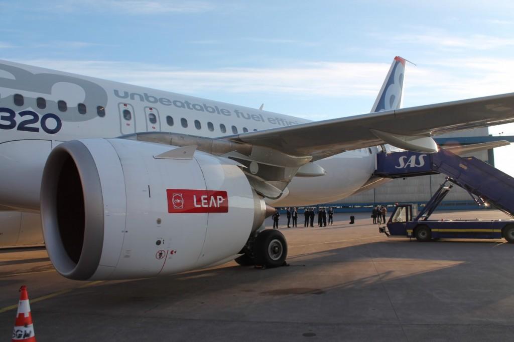 SAS har valgt en såkaldt LEAP motor til deres Airbus A320neo.