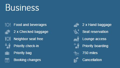 Fordelene ved at flyve med Swiss på Business Class i Europa.
