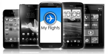 My Flights-appen offline!