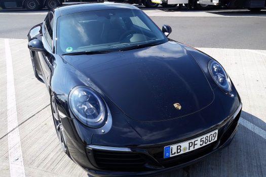 Porsche udlejning på Lufthansa First