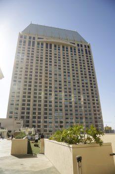 Cirka halvdelen af de 1.628 værelser hos Grand Hyatt.