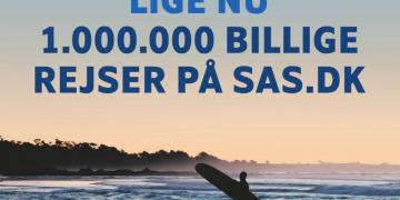 SAS med 1.000.000 billige rejser