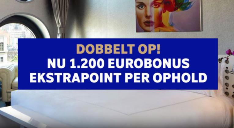 EuroBonus point med Hotels.com