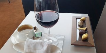Lidt kaffe, rødvin og chokolade. Så er det svært ikke at slappe af.