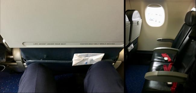 KLM E190 Economy Comfort