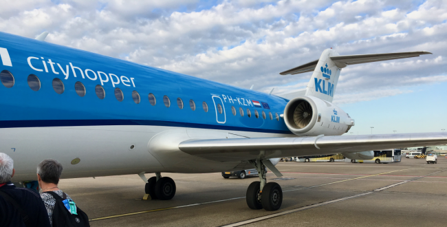 KLM Fokker F70 Economy Comfort