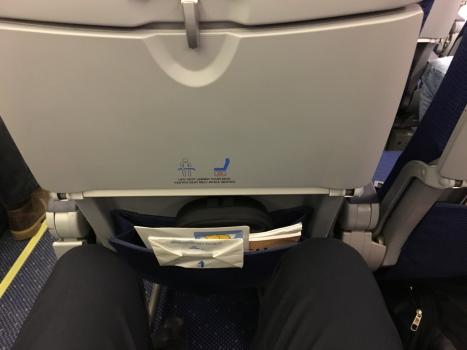 KLM Boeing 737 Economy Comfort