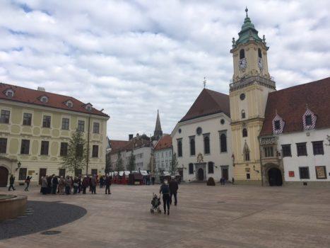 Den gamle bydel i Bratislava