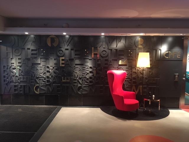 Designet på hotellet er gennemført klassisk med moderne elementer.