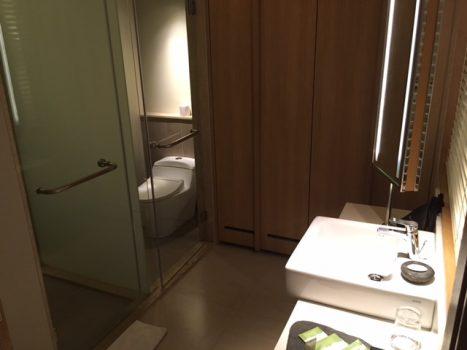 Det lille men funktionelle badeværelse