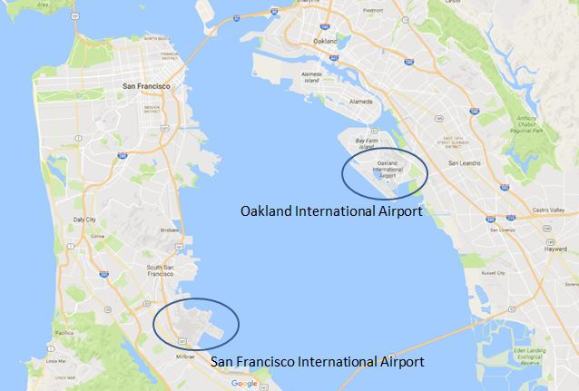 British Airways åbner direkte rute til Oakland fra London Gatwick lufthavnen.