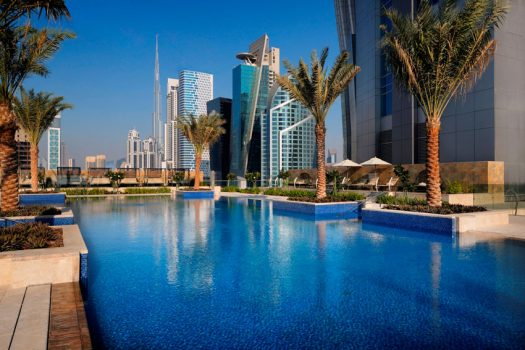 Det lækre poolområde (billede lånt på hotellet hjemmeside)
