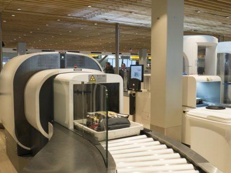 CT scanner Amsterdam lufthavn