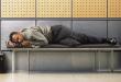 Sove på lufthavnen