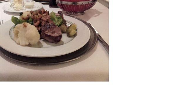 Vildtplatte fra Restaurant Estragon