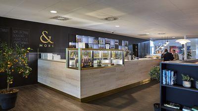 "Restaurant ""& More"" Aalborg Lufthavn"