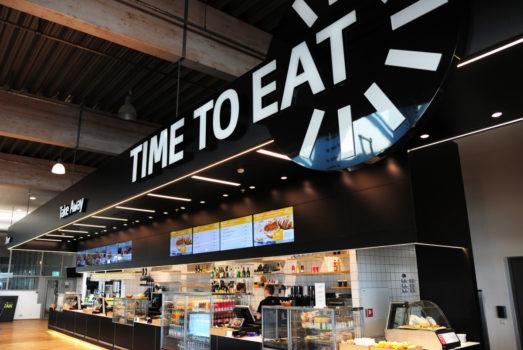 Spisestedet Gastro bliver udvidet, når Billund Airport tager multihuset i brug