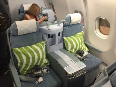Finnair A340 Business Class