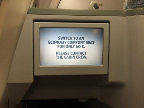 Finnair Business Class IFE