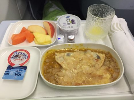 Finnair Business Class morgenmad