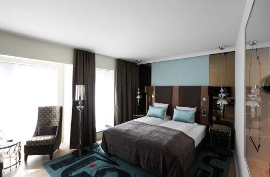 Et standard værelse koster 5.000 point, men vil du have et Executive værelse som eksempelvis dette på Tivoli Hotel, må du af med 15.000 point. PR foto.