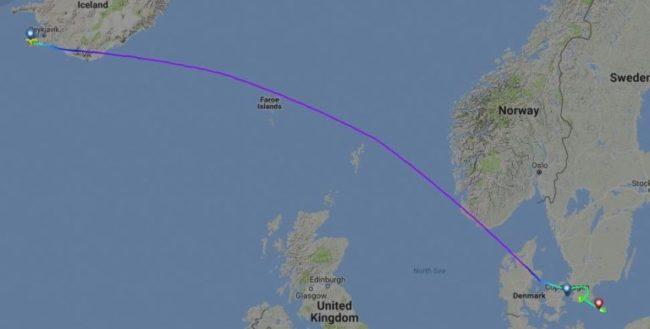 Rute SK596/26DEC – Flightradar24.com
