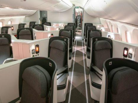 Avianca Business Class – Boeing 787-8 Dreamliner. Foto: Avianca