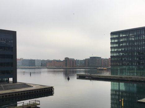 Udsigten ud over Københavns havn