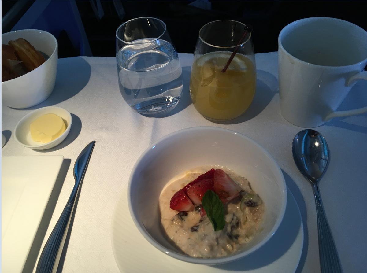 Morgenmaden i Business Class til Voksne.