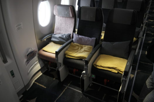 China Airlines A350 economy class
