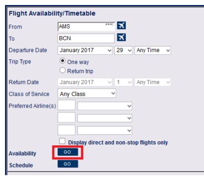 BCD Availability tool