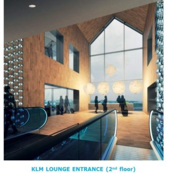 Fremtidens KLM Crown Lounge