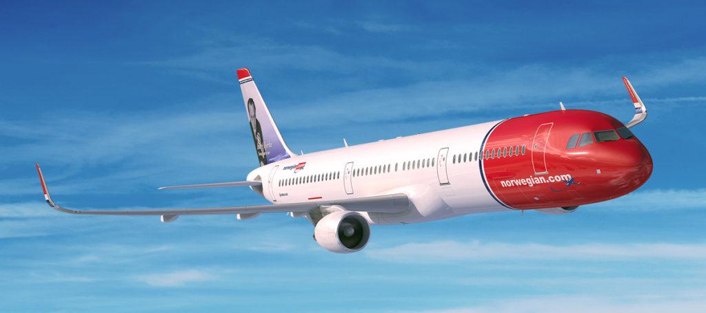 Norwegian A321LR