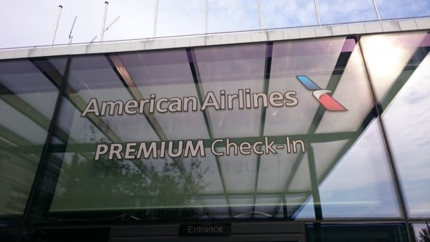 American Airlines premium check in