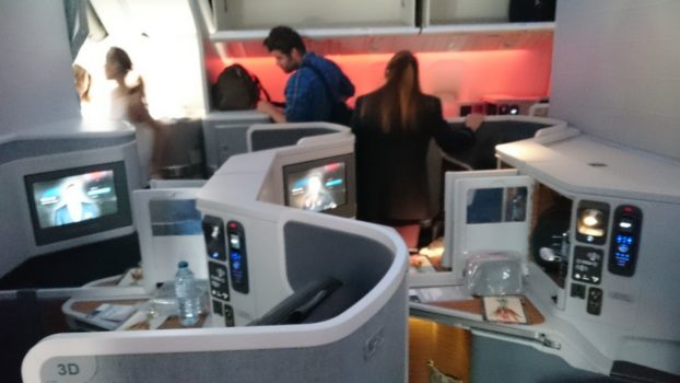American Airlines Boeing 777-300 Business Class Mini Cabin
