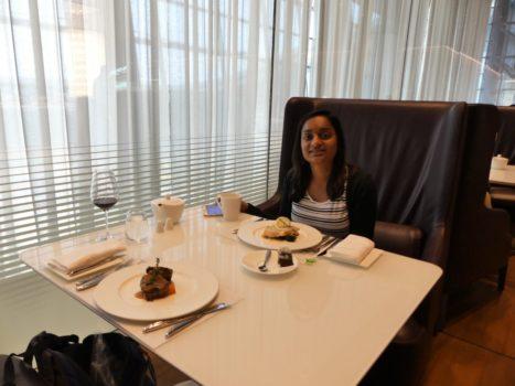 Qatar Airways Al Mourjan business lounge