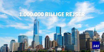 SAS 1.000.000 Billige rejser