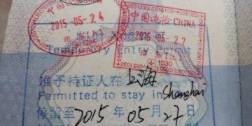 Kina transit visum